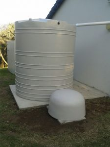 Emergency Water and Rain Harvesting Tank