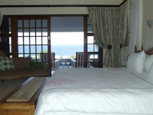 Luxury sea view from the honeymoon room