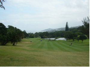 Southbroom Golf Course, popular during golf holidays